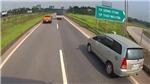 Xử lý nữ tài xế lùi xe trên cao tốc Hà Nội - Thái Nguyên