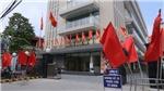 Ảnh: Hà Nội rực rỡ sắc đỏ trước Bầu cử QH và HĐND