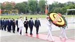 Lãnh đạo Đảng, Nhà nước vào Lăng viếng Chủ tịch Hồ Chí Minh nhân kỷ niệm 131 năm Ngày sinh của Người
