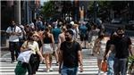 Tượng đài tôn vinh các nhân viên tuyến đầu chống dịch Covid-19 ở New York Mỹ