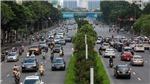 Hình ảnh giao thông Hà Nội nhộn nhịp trở lại trong ngày đầu dỡ bỏ 39 chốt kiểm soát dịch
