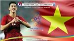 Kèo U22 Việt Nam vs U22 Campuchia: Soi kèo SEA Games 30. Trực tiếp bóng đá VTV6, VTV5, VTC1