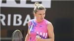 Tennis: Simona Halep vào chung kết Italian Open