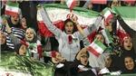 Sau 40 năm, phụ nữ Iran mới được xem bóng đá