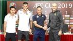 HLV Chu Đình Nghiêm bỏ ngỏ khả năng ra sân của Đức Huy
