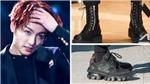 Ngắm Jungkook BTS trong những đôi giày 'siêu phẩm' này, fan chỉ thấy yêu thêm