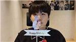 BTS: Jungkook bất ngờ xuất hiện hát 'Happy Birthday' chúc sinh nhật Suga
