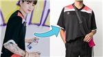 Giá chiếc áo thun và đôi dép da 'sương sương' của Jungkook BTS