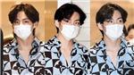 Truyền thông Hàn Quốc dành toàn lời mỹ miều mô tả V khi BTS lên đường sang Mỹ
