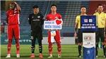 Cầu thủ Viettel, Bình Dương quyên góp ủng hộ đồng bào miền Trung