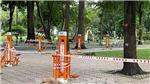 Dịch COVID -19: Thành phố Hồ Chí Minh tạm dừng tất cả các hoạt động trong công viên, mảng xanh