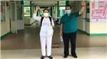 Bệnh nhân mắc COVID-19 cuối cùng điều trị tại Bệnh viện Phổi Đà Nẵng được xuất viện