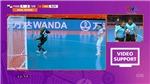 ĐÁNG TIẾC: ĐT Futsal Việt Nam mất một bàn thắng
