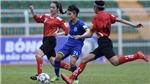Than khoáng sản Việt Nam tạo bất ngờ tại giải bóng đá nữ VĐQG 2018