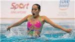 VĐV bơi nghệ thuật Việt Nam gây bất ngờ ở Singapore