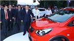 Thủ tướng Nguyễn Xuân Phúc dự Lễ phát động 'Hàng Việt Nam chinh phục người Việt Nam' và ra mắt xe Vinfast