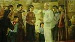 Triển lãm 'Nhớ về Bác' giới thiệu các tác phẩm của các họa sỹ nổi tiếng