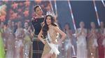 Khoảnh khắc Khánh Vân hạnh phúc nhận vương miện Hoa hậu Hoàn vũ 2019
