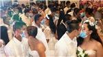 Dịch COVID-19: Đám cưới tập thể tại Philippines diễn ra theo cách đặc biệt trong thời dịch bệnh
