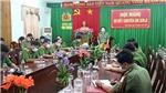 Công an Bình Thuận thông tin về vụ trọng án xảy ra tại chùa Quảng Ân