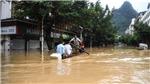 Trung Quốc nâng mức ứng phó khẩn cấp với mưa lũ