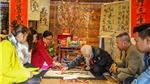 Nhiều hoạt động hấp dẫn tại Triển lãm và liên hoan thư pháp 'Thăng Long - Hà Nội'