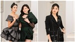 Á hậu Trà My - Thanh Tú mua váy của NTK Hà Duy để ủng hộ miền Trung