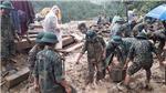 Vụ sạt lở ở Nam Trà My - Quảng Nam: Nỗ lực tìm kiếm nạn nhân trước khi bão số 10 tràn vào