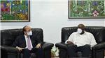 Chủ tịch nước Nguyễn Xuân Phúc tới La Habana, bắt đầu thăm hữu nghị chính thức Cuba
