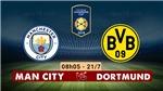 Video clip bàn thắng Man City 0-1 Borussia Dortmund