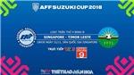 Soi kèo và dự đoán bóng đá Singapore vs Đông Timor (18h30, 21/11). Trực tiếp bóng đá VTV6, VTV5