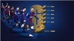 Messi lập kỷ lục 3 lần liên tiếp giành Giày vàng châu Âu, khiến cả thế giới phải ngả mũ thán phục