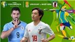 Soi kèo bóng đá Uruguay vs Nhật Bản (06h ngày 21/6). Trực tiếp Copa America 2019