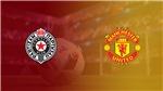 Xem trực tiếp Partizan vs MU (23h55 ngày 24/10). Trực tiếp bóng đá cúp C2 châu Âu trên K+, K+PM