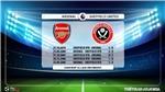 VIDEO soi kèo Arsenal vs Sheffield. Vòng 23 Giải ngoại hạng Anh. Trực tiếp K+PM