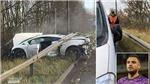 MU: Sao Quỷ đỏ gặp tai nạn giao thông kinh hoàng khi đến sân tập