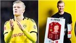 Chỉ đá 60 phút, Erling Haaland vẫn đoạt giải Cầu thủ xuất sắc nhất tháng