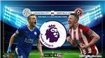 Soi kèo bóng đá. Leicester vs Sheffield Utd. Vòng 36 Ngoại hạng Anh. Trực tiếp K+NS