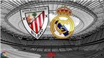 Trực tiếp bóng đá. Athletic Bilbao vs Real Madrid. Bóng đá Tây Ban Nha. BĐTV