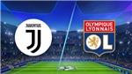 Trực tiếp bóng đá. Juventus vs Lyon. Trực tiếp cúp C1 châu Âu. K+. K+PC