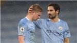 Man City tá hoả vì De Bruyne chấn thương, MU mừng thầm