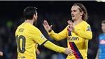 Griezmann: 'Rất khó để Messi nhìn thấy tôi'