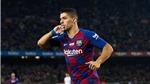 VIDEO: Sốc với pha giật gót như Messi đá phạt của Luis Suarez