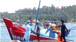 4 ngư dân trên tàu cá bị tàu hải cảnh Trung Quốc đâm chìm ở Hoàng Sa đã vào bờ