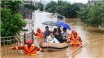 Tỉnh Giang Tây Trung Quốc ra cảnh báo lũ cao nhất