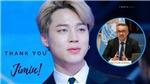 Tổng giám đốc WHO tuyên dương thành viên Jimin BTS