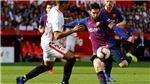 CĐV phát sốt với cú vô-lê một chạm siêu đẳng của Messi vào lưới Sevilla