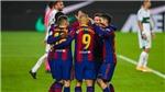 Barcelona 3-0 Elche: Messi rực sáng, Barca quyết tranh vô địch Liga