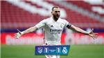 Atletico 1-1 Real Madrid: Suarez gọi, Benzema trả lời, derby Madrid bất phân thắng bại
