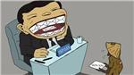 Triển lãm tranh biếm họa về chủ đề 'Phòng, chống tham nhũng'
